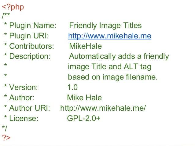 Selecting the Right WordPress Plugin Slide 3