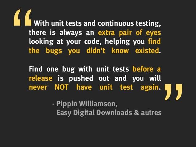 wordpress plugin unit tests  fr