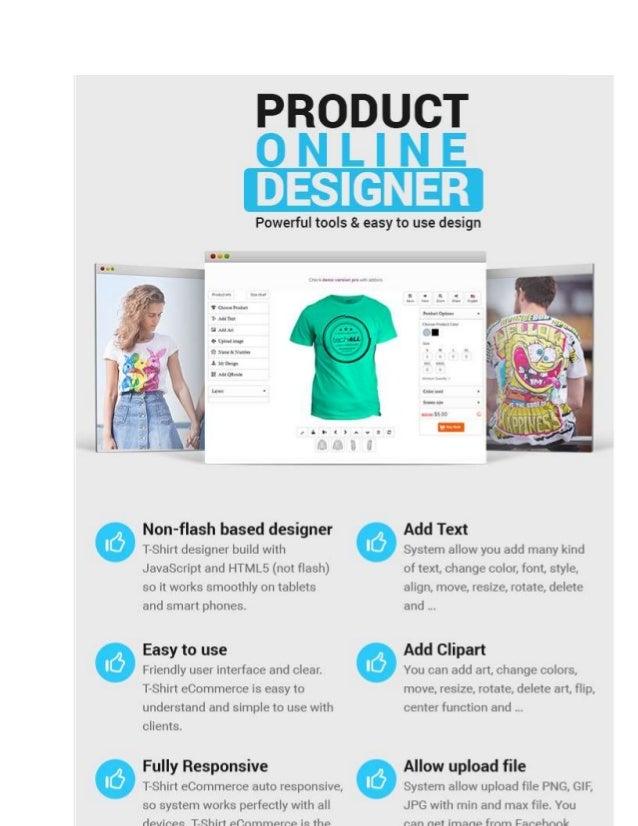 Wordpress Printshop Website Templates With Online Design Packages - T shirt design website template