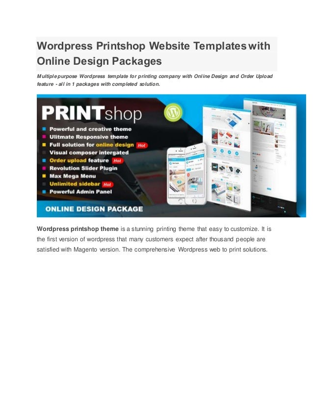Wordpressprintshopwebsitetemplates Withonlinedesignpackagesjpgcb - Website templates wordpress