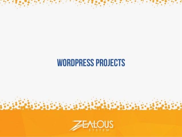 Wordpress Projects