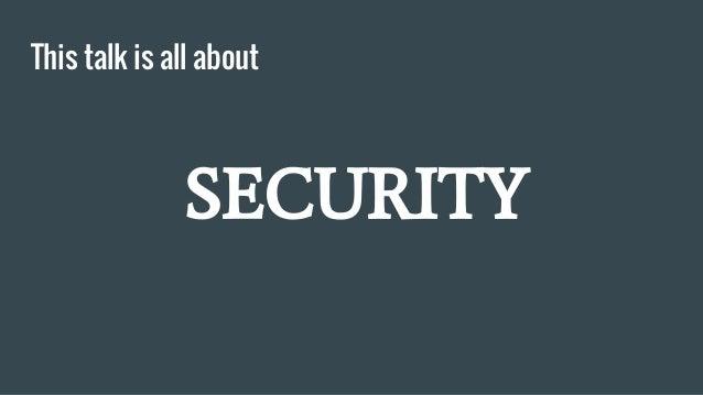 Wordpress security Slide 3