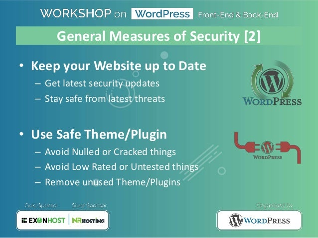 WordPress Security by Nirjhor Anjum