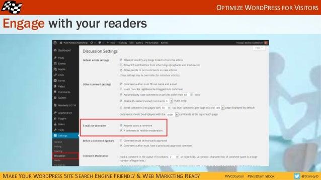 How to Make Your WordPress Site Search Engine Friendly & Web Marketin…