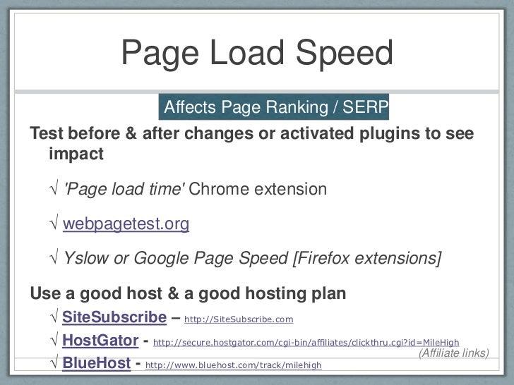 WordPress SEO Site Optimization Strategies & Techniques slideshare - 웹