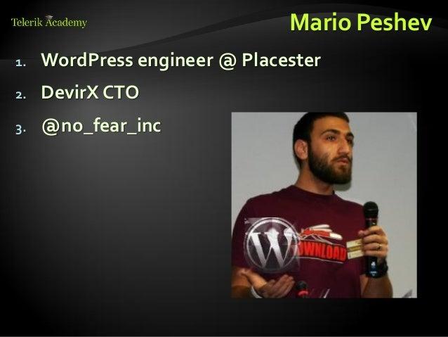 WordPress Theme from HTML Template Slide 3