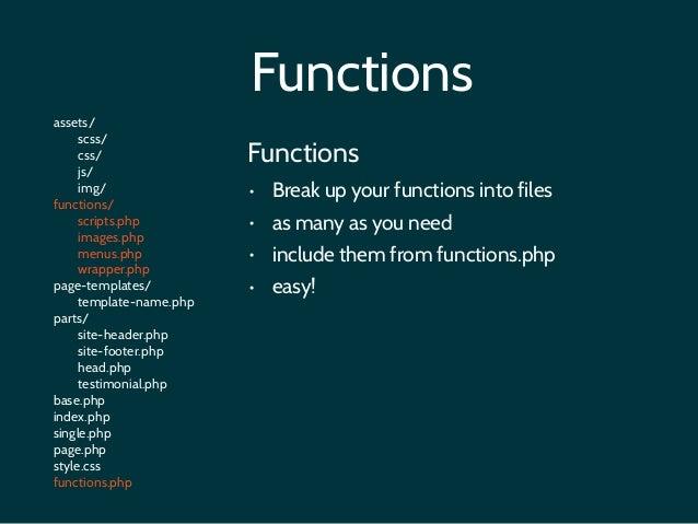 Wordpress theme structure 16 functionsp maxwellsz