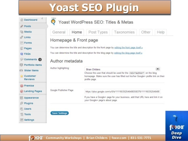 How to Optimize WordPress for Local Search SEO slideshare - 웹