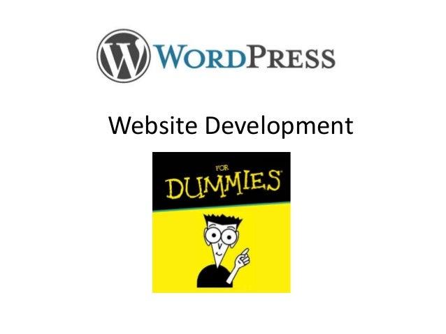 Website Development    For Dummies