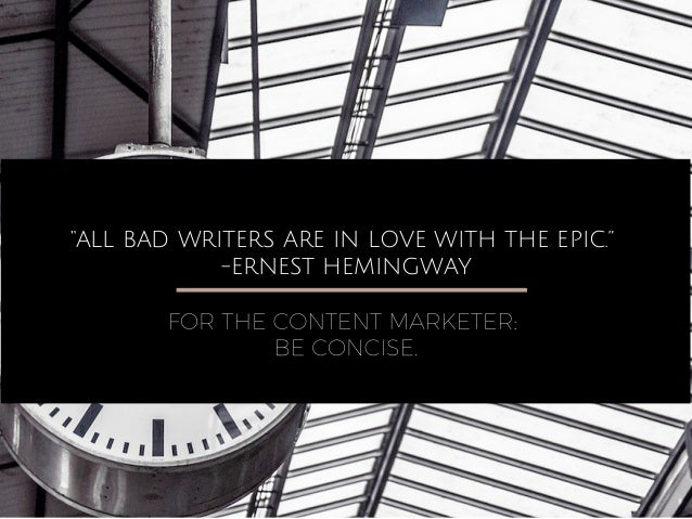 Words of Wisdom for Content Creators from Famous Writers Slide 2