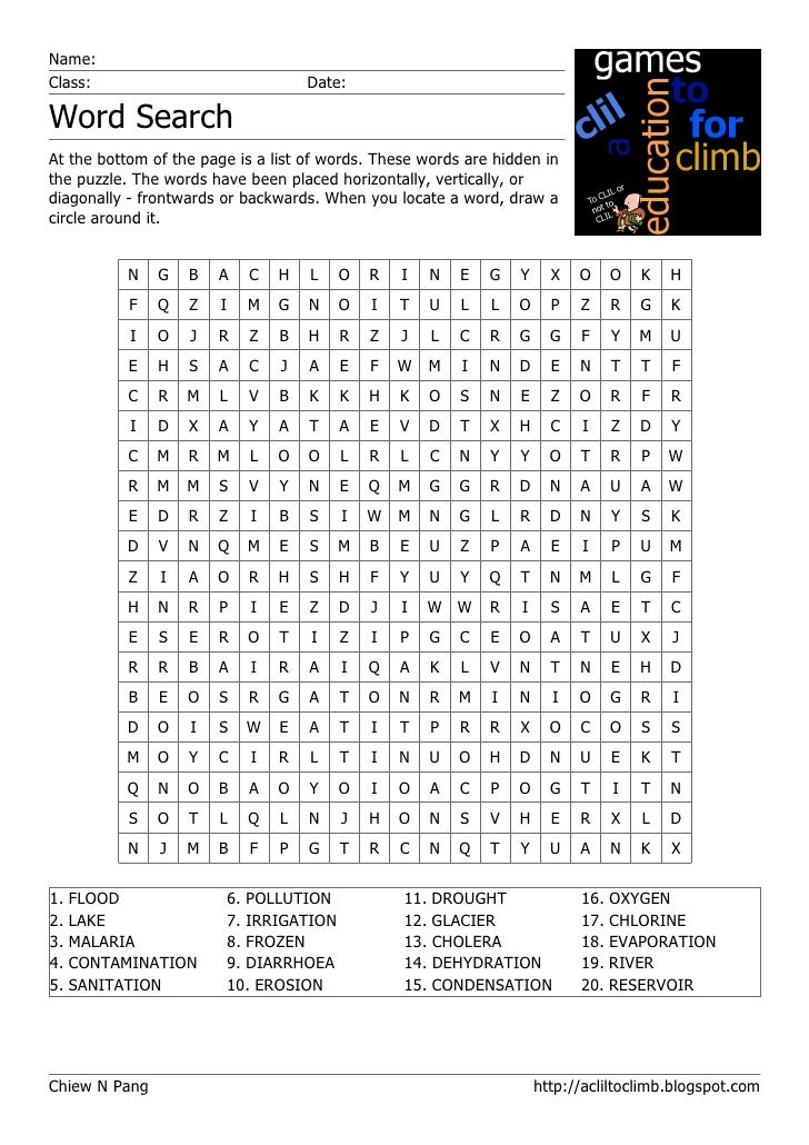 photograph about Frozen Word Searches named Term Glance: H2o For Daily life: equivalent terms