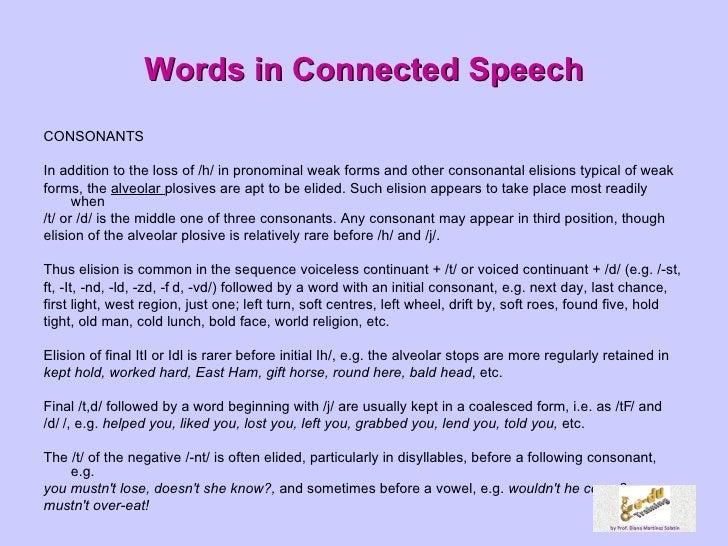 connected speech activities