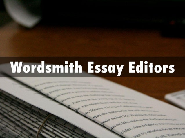 Thesis editors