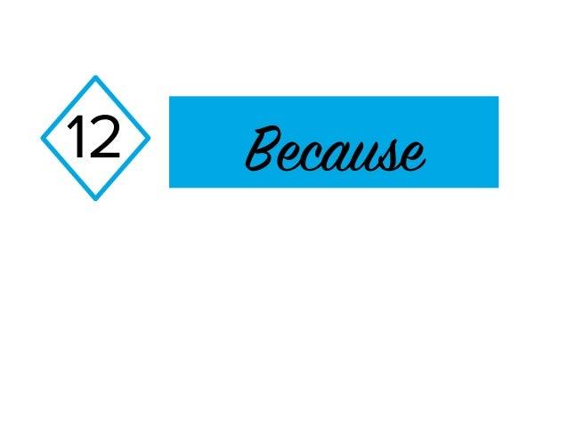 Because12