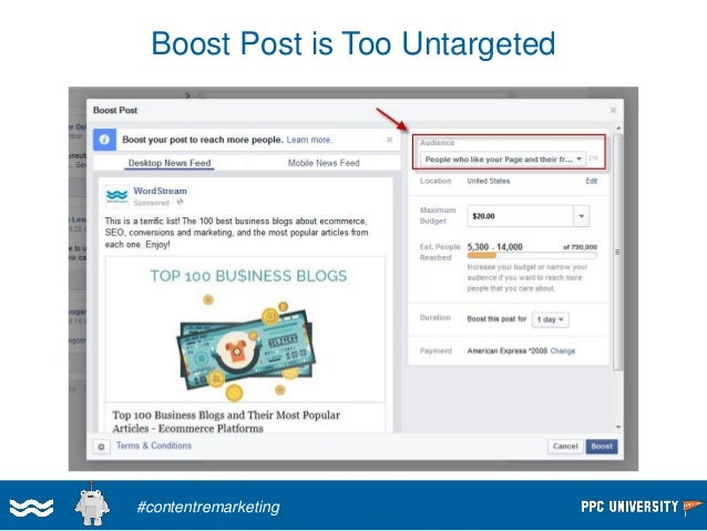 Targeting Fans on Twitter  #contentremarketing