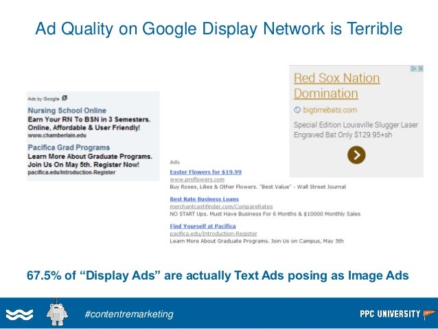 """Push Display Ads Back To Your """"Hard"""" Offers  #contentremarketing"""