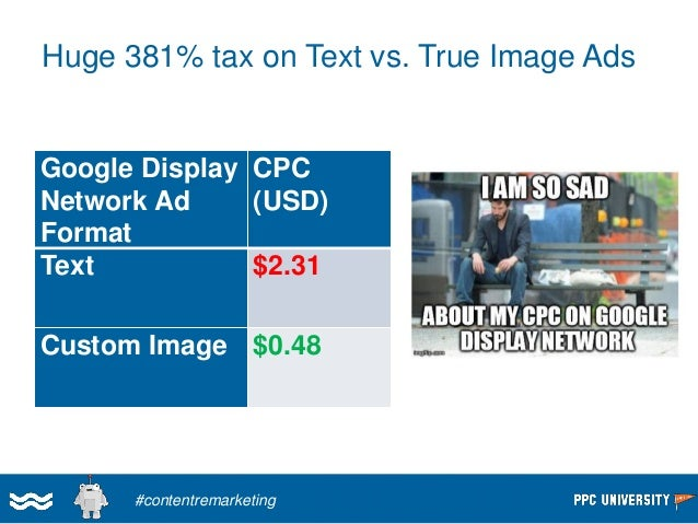 Push Display Ads Back To Your Content  #contentremarketing