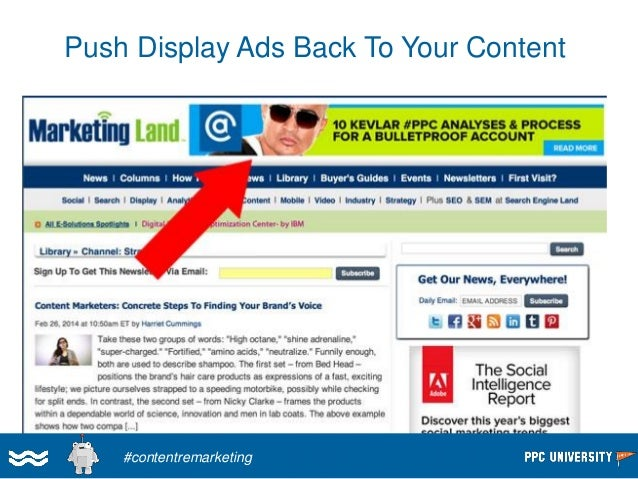 Great Display Ads Look More Like Content  #contentremarketing