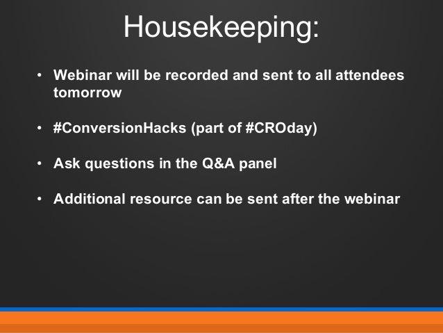 10 Unconventional, Proven, Data-Backed CRO Hacks Slide 2