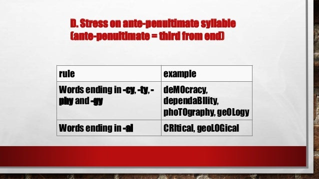 Word stress, intonation and juncture with quiz
