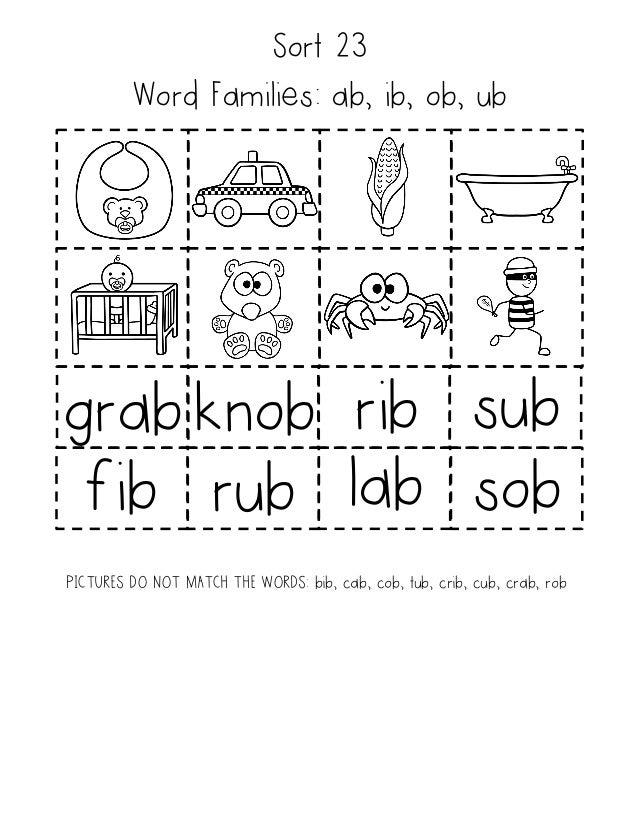 Word studysortsandworkbook