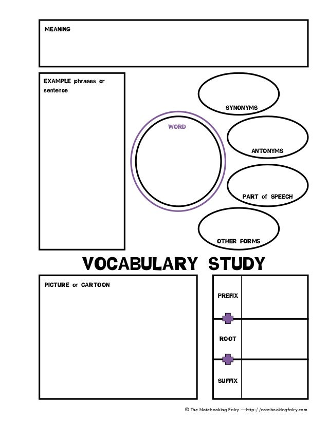 Story Response Worksheets