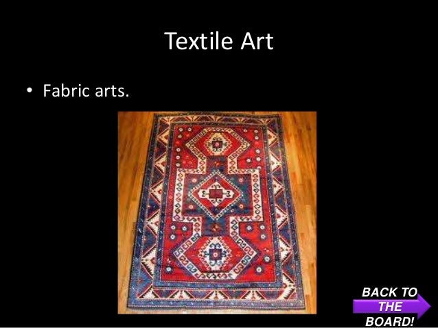 Textile Art• Fabric arts.                               BACK TO                                 THE                       ...