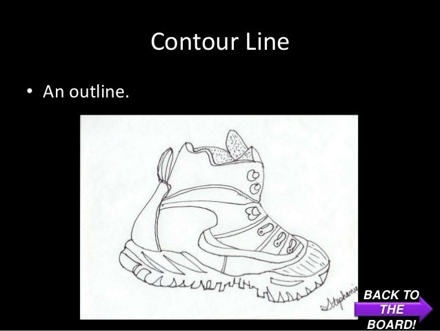 Contour Line• An outline.                               BACK TO                                 THE                       ...