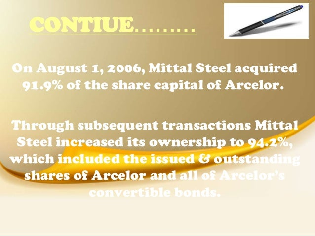 Arcelor Mittal Case Study | Case Study Template