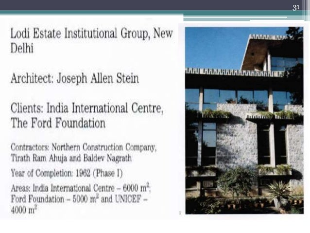 Joseph Allen Stien Raj Rewal Anant D Raje
