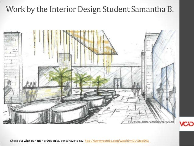 Amazing Work By The Vcad Interior Design Program Student Samantha B In Vancou With How Does