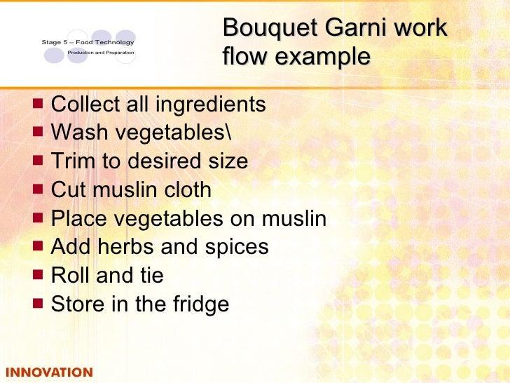 Good ... 19. Bouquet Garni Work ...