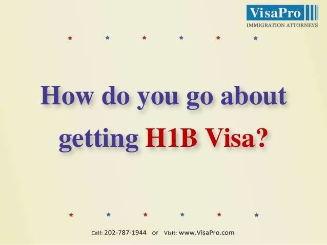 Is It Your Goal To Work In USA On H1B Visa? Slide 3
