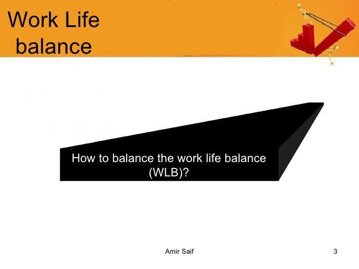 Work Life Balance Slide 3