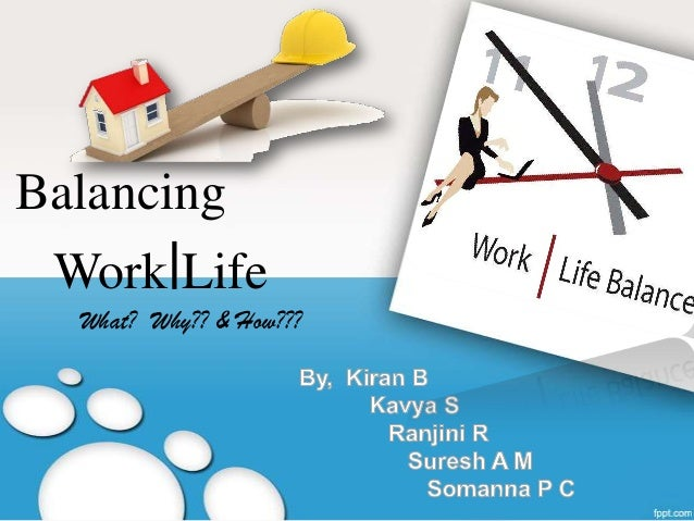 Balancing  Work|Life What? Why?? & How???