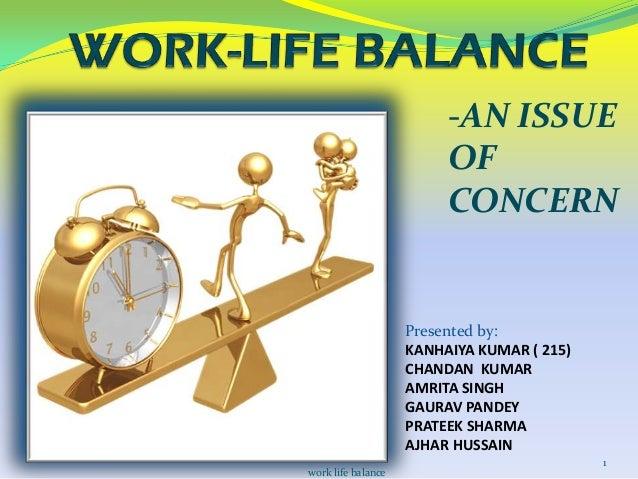 work life balance ppt