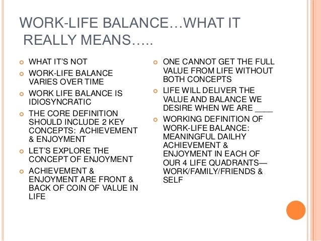 The misconception of the term workaholic