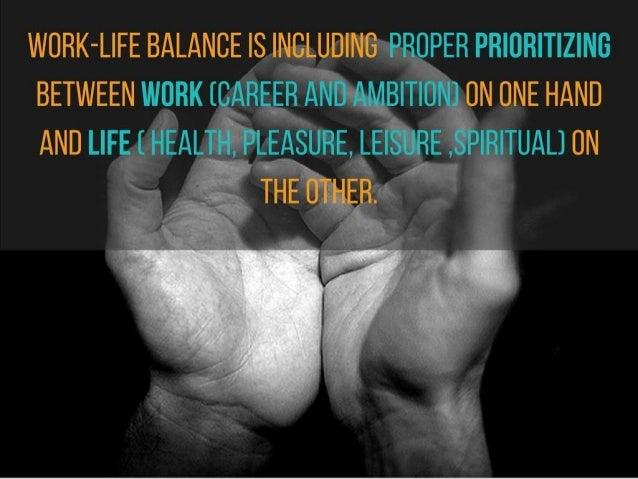 Work-Life Balance Slide 2