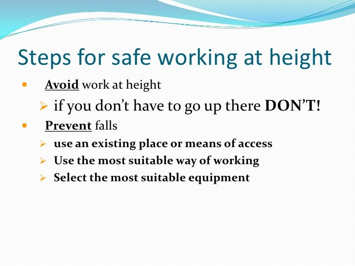 Health and safety at work act essay