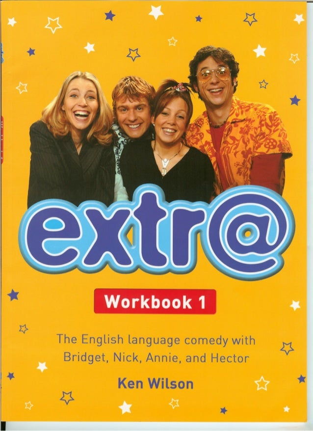 Extra English - Work book 1