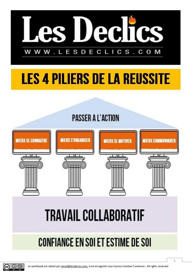 Le workbook est réalisé par ismail@lesdeclics.com, il est enregistré sous licence Créative Commons : All rights reserved 1