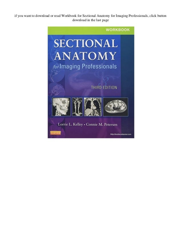 DOWNLOAD Workbook for Sectional Anatomy for Imaging ...