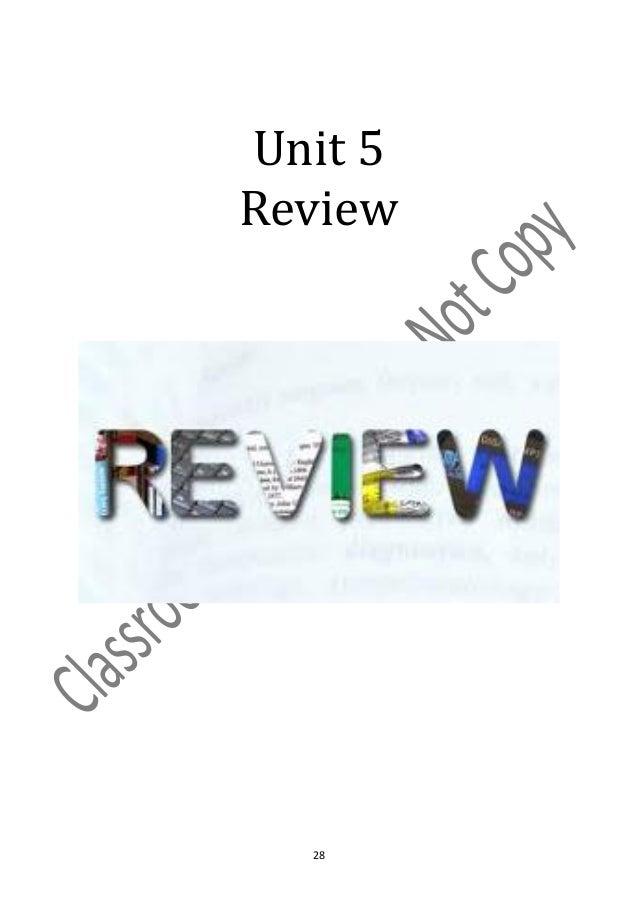 Unit 5Review  28