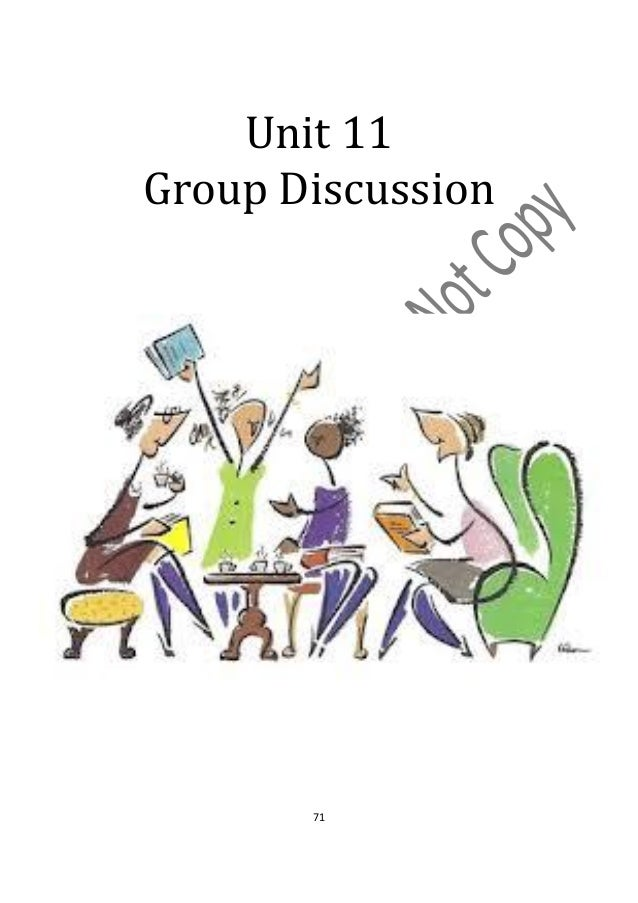 Unit 11Group Discussion       71