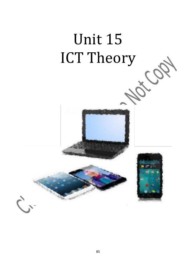 Unit 15ICT Theory    85