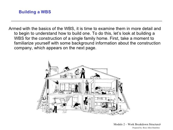 Building a WBS <ul><li>Armed with the basics of the WBS, it is time to examine them in more detail and to begin to underst...
