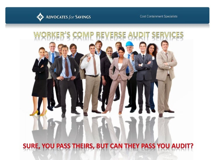 •   Workers' Compensation Premium Audit•   Are you relying on your insurance company's annual audit to protect you from ov...
