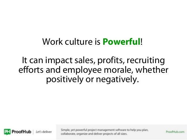 how to change work culture
