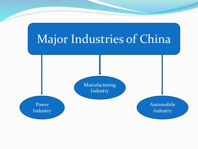 Work culture of china for Portant industriel