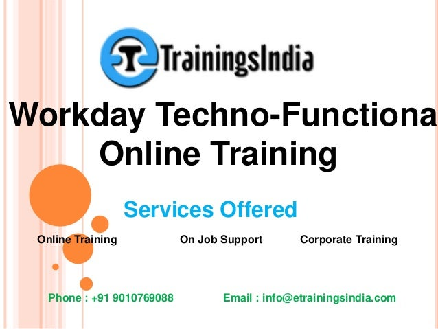 Workday HCM Techno-Functional By Certified Experts
